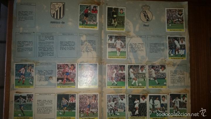 Coleccionismo deportivo: ALBUM LIGA 81 - 82, ESTE, INCOMPLETO CON 167 CROMOS - Foto 10 - 58106364