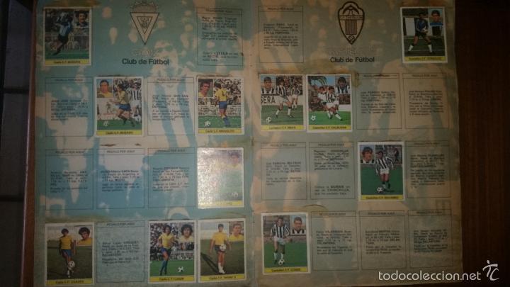 Coleccionismo deportivo: ALBUM LIGA 81 - 82, ESTE, INCOMPLETO CON 167 CROMOS - Foto 13 - 58106364