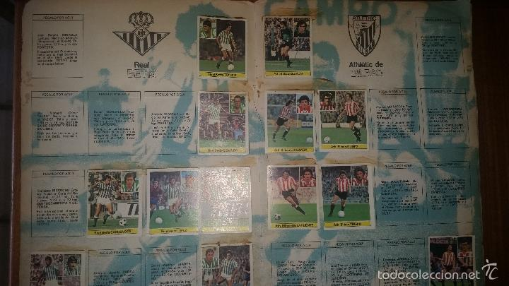 Coleccionismo deportivo: ALBUM LIGA 81 - 82, ESTE, INCOMPLETO CON 167 CROMOS - Foto 14 - 58106364