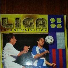 Coleccionismo deportivo: ALBUM LIGA 95 - 96 ESTE, COMPLETO MAS 123 COLOCAS A FALTA DE 3 ULTIMOS FICHAJES MAS 2 COLOCA. Lote 58153377