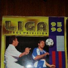 Coleccionismo deportivo: ALBUM LIGA 95 - 96 ESTE, COMPLETO A FALTA DE 6 CROMOS Y 10 ULTIMOS FICHAJES MAS 106 COLOCAS. Lote 58153626