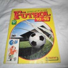 Coleccionismo deportivo: ESTRELLAS DE LA LIGA FUTBOL 92-93 PANINI.FALTAN 32 DE 220. Lote 58161122