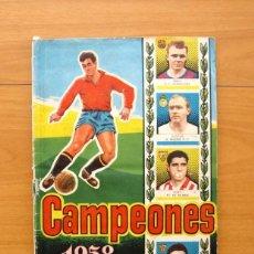 Coleccionismo deportivo: CAMPEONES 1958, 57-58 - EDITORIAL BRUGUERA - VER FOTOS Y EXPLICACIONES INTERIORES. Lote 58243407