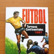 Coleccionismo deportivo: FÚTBOL - TORNEOS CONTINENTALES 1966-1967, 66-67 - EDITORIAL RUIZ ROMERO - VER FOTOS INTERIORES. Lote 58243588