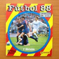 Coleccionismo deportivo: FÚTBOL 88 - EDITORIAL PANINI 1987-1988, 87-88 - CONTIENE 355 CROMOS - VER FOTOS INTERIORES. Lote 58244575