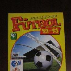 Coleccionismo deportivo: ESTRELLAS DE LA LIGA FUTBOL 92 93 1992 1993 ALBUM VACIO NUEVO PANINI. Lote 58272317