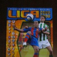 Coleccionismo deportivo: LIGA ESTE 2005 2006 05 06 ALBUM VACIO NUEVO PANINI. Lote 74700263