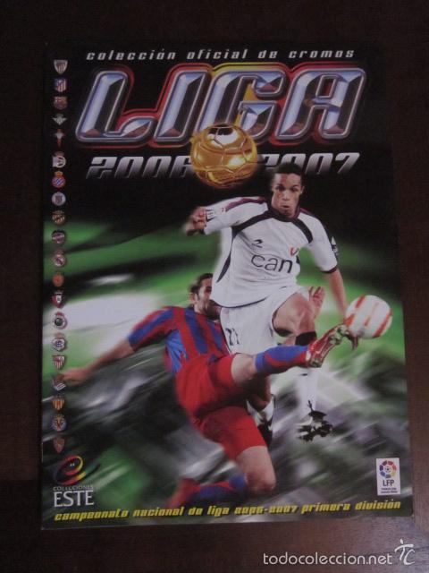 LIGA ESTE 2006 2007 06 07 ALBUM VACIO NUEVO PANINI (Coleccionismo Deportivo - Álbumes y Cromos de Deportes - Álbumes de Fútbol Incompletos)