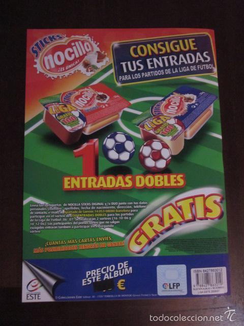Coleccionismo deportivo: LIGA ESTE 2006 2007 06 07 ALBUM VACIO NUEVO PANINI - Foto 2 - 58272374