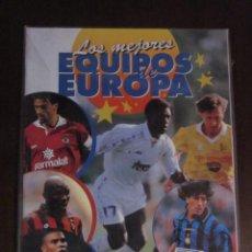 Coleccionismo deportivo: LOS MEJORES EQUIPOS DE EUROPA ALBUM VACIO NUEVO PANINI. Lote 58283678