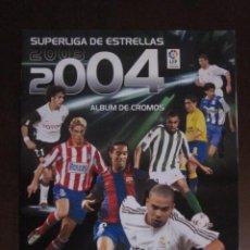 Coleccionismo deportivo: SUPERLIGA DE ESTRELLAS 2003 2004 ALBUM VACIO NUEVO PANINI. Lote 58283984