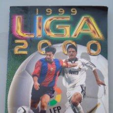 Coleccionismo deportivo: ÁLBUM DE CROMOS DE FÚTBOL. LIGA 1999 2000. EDICIONES ESTE. CONTIENE 405 CROMOS. 420 GR. Lote 58294733