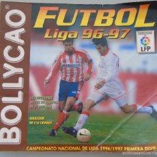 Coleccionismo deportivo: ÁLBUM DE CROMOS DE FÚTBOL. LIGA 1996 1997 96 97. BOLLYCAO. CONTIENE 201 CROMOS. 200 GR. Lote 58294886