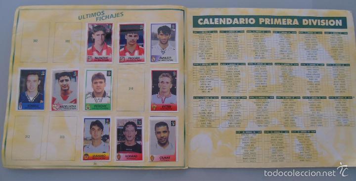 Coleccionismo deportivo: ÁLBUM DE CROMOS DE FÚTBOL. LIGA 1996 1997 96 97. BOLLYCAO. CONTIENE 201 CROMOS. 200 GR - Foto 2 - 58294886