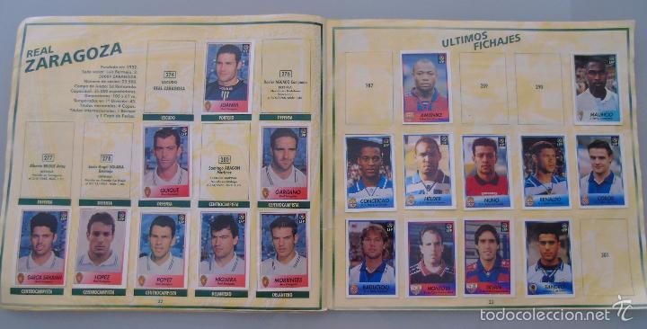 Coleccionismo deportivo: ÁLBUM DE CROMOS DE FÚTBOL. LIGA 1996 1997 96 97. BOLLYCAO. CONTIENE 201 CROMOS. 200 GR - Foto 3 - 58294886