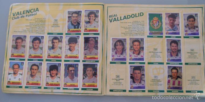 Coleccionismo deportivo: ÁLBUM DE CROMOS DE FÚTBOL. LIGA 1996 1997 96 97. BOLLYCAO. CONTIENE 201 CROMOS. 200 GR - Foto 4 - 58294886