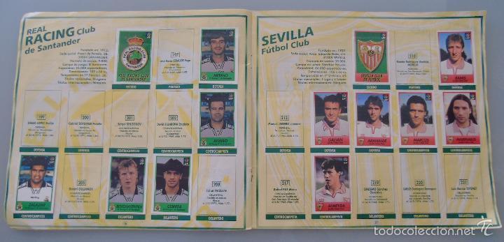 Coleccionismo deportivo: ÁLBUM DE CROMOS DE FÚTBOL. LIGA 1996 1997 96 97. BOLLYCAO. CONTIENE 201 CROMOS. 200 GR - Foto 6 - 58294886