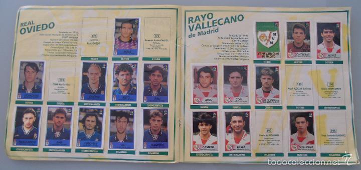Coleccionismo deportivo: ÁLBUM DE CROMOS DE FÚTBOL. LIGA 1996 1997 96 97. BOLLYCAO. CONTIENE 201 CROMOS. 200 GR - Foto 7 - 58294886