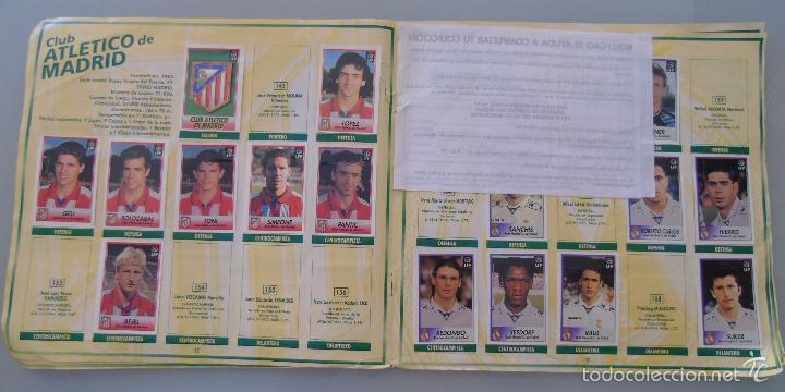 Coleccionismo deportivo: ÁLBUM DE CROMOS DE FÚTBOL. LIGA 1996 1997 96 97. BOLLYCAO. CONTIENE 201 CROMOS. 200 GR - Foto 8 - 58294886