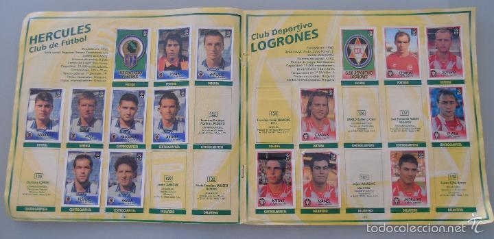 Coleccionismo deportivo: ÁLBUM DE CROMOS DE FÚTBOL. LIGA 1996 1997 96 97. BOLLYCAO. CONTIENE 201 CROMOS. 200 GR - Foto 9 - 58294886