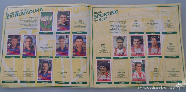 Coleccionismo deportivo: ÁLBUM DE CROMOS DE FÚTBOL. LIGA 1996 1997 96 97. BOLLYCAO. CONTIENE 201 CROMOS. 200 GR - Foto 10 - 58294886