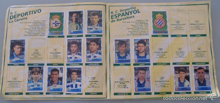 Coleccionismo deportivo: ÁLBUM DE CROMOS DE FÚTBOL. LIGA 1996 1997 96 97. BOLLYCAO. CONTIENE 201 CROMOS. 200 GR - Foto 11 - 58294886