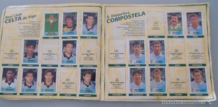 Coleccionismo deportivo: ÁLBUM DE CROMOS DE FÚTBOL. LIGA 1996 1997 96 97. BOLLYCAO. CONTIENE 201 CROMOS. 200 GR - Foto 12 - 58294886