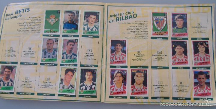 Coleccionismo deportivo: ÁLBUM DE CROMOS DE FÚTBOL. LIGA 1996 1997 96 97. BOLLYCAO. CONTIENE 201 CROMOS. 200 GR - Foto 13 - 58294886