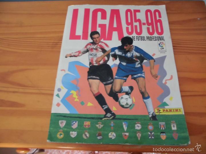 ALBUM PANINI LIGA 95 96 FUTBOL CROMOS 1995 1996 - ALBUM INCOMPLETO (Coleccionismo Deportivo - Álbumes y Cromos de Deportes - Álbumes de Fútbol Incompletos)