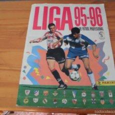 Coleccionismo deportivo: ALBUM PANINI LIGA 95 96 FUTBOL CROMOS 1995 1996 - ALBUM INCOMPLETO. Lote 58332416