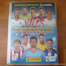 Coleccionismo deportivo: ALBUM ADRENALYN PANINI LIGA 2014 2015 COMPLETO CON 565 CROMOS DIFERENTES FUTBOL 14 15. Lote 58336302