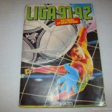 Coleccionismo deportivo: ÁLBUM ESTE LIGA 91 92. Lote 58453791