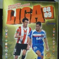 Coleccionismo deportivo: ALBUM DE CROMOS DE FUTBOL LIGA 2008-09 . CON 189 CROMOS PEGADOS. Lote 58472248