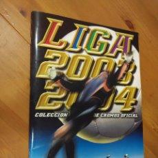 Coleccionismo deportivo: ALBUM CROMOS EDICIONES ESTE LIGA 2003 2004 2003/04. Lote 58515465