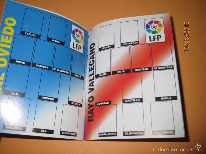 Coleccionismo deportivo: Album de Futbol 1ª División del CHICLE CAMPEON a Estrenar - Año 1997 - Foto 3 - 58519760