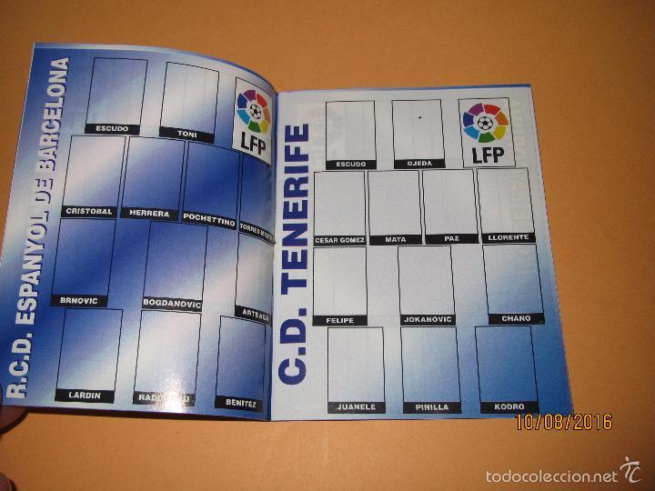Coleccionismo deportivo: Album de Futbol 1ª División del CHICLE CAMPEON a Estrenar - Año 1997 - Foto 4 - 58519760