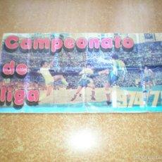 Coleccionismo deportivo: ALBUM DE CROMOS DE PIPAS GRAEL LIGA 1974-75. Lote 59131000