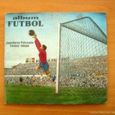 Coleccionismo deportivo: FÚTBOL - JUGADORES 1ª DIVISIÓN 1960-1961, 60-61 - EDITORIAL FERCA -CONTIENE 229 CROMOS, LE FALTAN 43. Lote 59811060