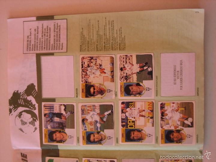 Coleccionismo deportivo: ÁLBUM CROMOS ESTE FÚTBOL LIGA 91 92 1991 1992 CON 282 CROMOS - FOTOS DE TODAS LAS HOJAS - Foto 5 - 60004411