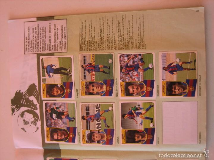 Coleccionismo deportivo: ÁLBUM CROMOS ESTE FÚTBOL LIGA 91 92 1991 1992 CON 282 CROMOS - FOTOS DE TODAS LAS HOJAS - Foto 7 - 60004411