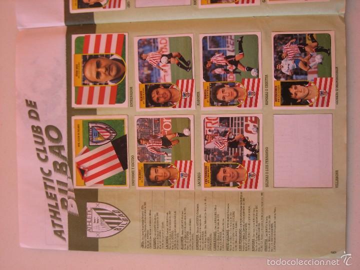 Coleccionismo deportivo: ÁLBUM CROMOS ESTE FÚTBOL LIGA 91 92 1991 1992 CON 282 CROMOS - FOTOS DE TODAS LAS HOJAS - Foto 8 - 60004411