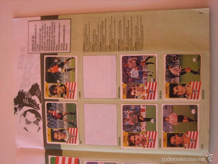 Coleccionismo deportivo: ÁLBUM CROMOS ESTE FÚTBOL LIGA 91 92 1991 1992 CON 282 CROMOS - FOTOS DE TODAS LAS HOJAS - Foto 9 - 60004411