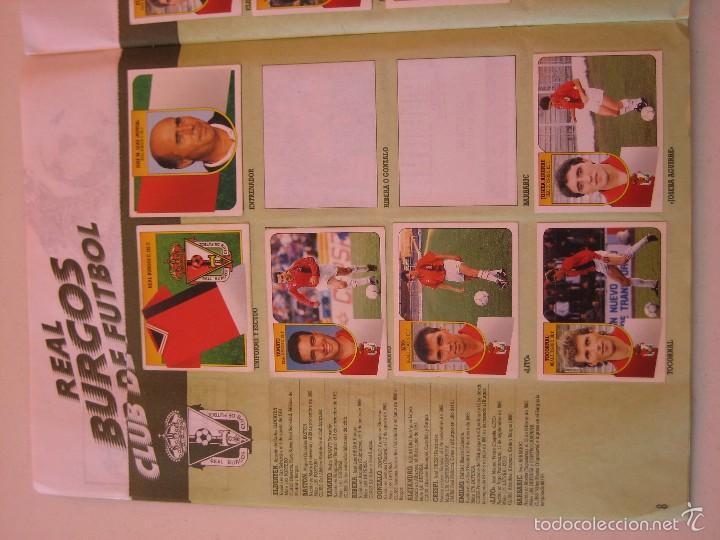 Coleccionismo deportivo: ÁLBUM CROMOS ESTE FÚTBOL LIGA 91 92 1991 1992 CON 282 CROMOS - FOTOS DE TODAS LAS HOJAS - Foto 10 - 60004411