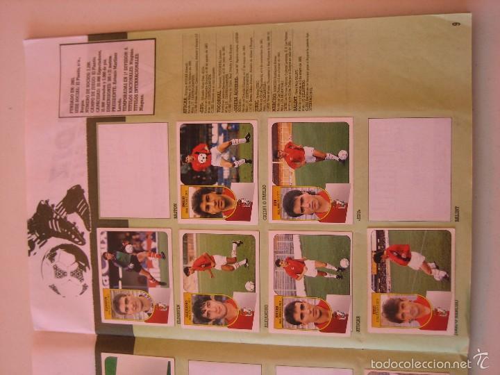 Coleccionismo deportivo: ÁLBUM CROMOS ESTE FÚTBOL LIGA 91 92 1991 1992 CON 282 CROMOS - FOTOS DE TODAS LAS HOJAS - Foto 11 - 60004411