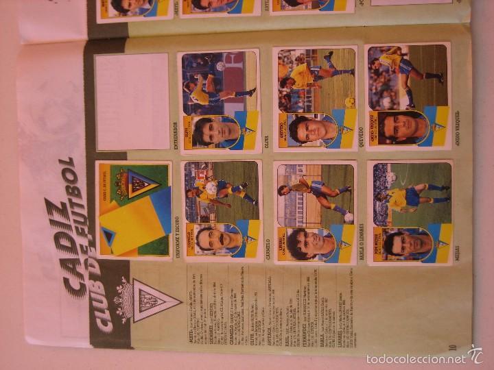 Coleccionismo deportivo: ÁLBUM CROMOS ESTE FÚTBOL LIGA 91 92 1991 1992 CON 282 CROMOS - FOTOS DE TODAS LAS HOJAS - Foto 12 - 60004411
