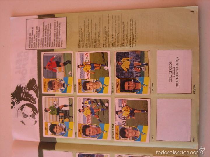 Coleccionismo deportivo: ÁLBUM CROMOS ESTE FÚTBOL LIGA 91 92 1991 1992 CON 282 CROMOS - FOTOS DE TODAS LAS HOJAS - Foto 13 - 60004411