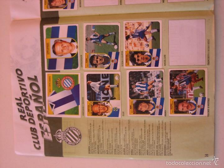 Coleccionismo deportivo: ÁLBUM CROMOS ESTE FÚTBOL LIGA 91 92 1991 1992 CON 282 CROMOS - FOTOS DE TODAS LAS HOJAS - Foto 16 - 60004411