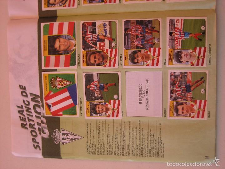 Coleccionismo deportivo: ÁLBUM CROMOS ESTE FÚTBOL LIGA 91 92 1991 1992 CON 282 CROMOS - FOTOS DE TODAS LAS HOJAS - Foto 18 - 60004411
