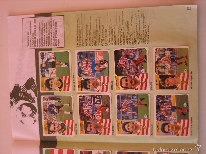Coleccionismo deportivo: ÁLBUM CROMOS ESTE FÚTBOL LIGA 91 92 1991 1992 CON 282 CROMOS - FOTOS DE TODAS LAS HOJAS - Foto 19 - 60004411