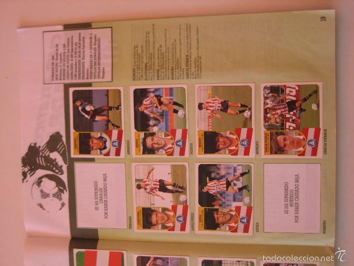 Coleccionismo deportivo: ÁLBUM CROMOS ESTE FÚTBOL LIGA 91 92 1991 1992 CON 282 CROMOS - FOTOS DE TODAS LAS HOJAS - Foto 21 - 60004411